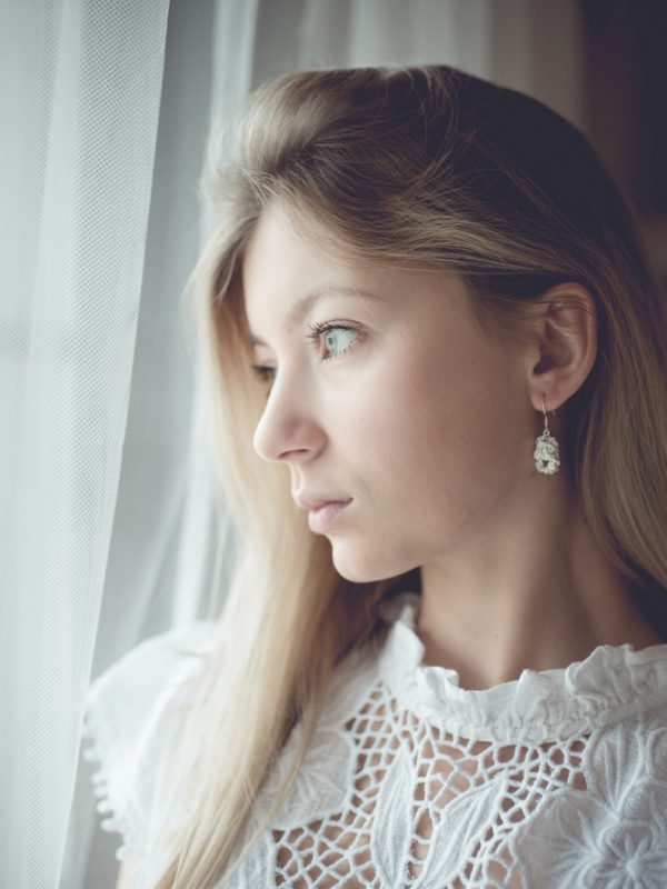 biżuteria, loska, za buczyną