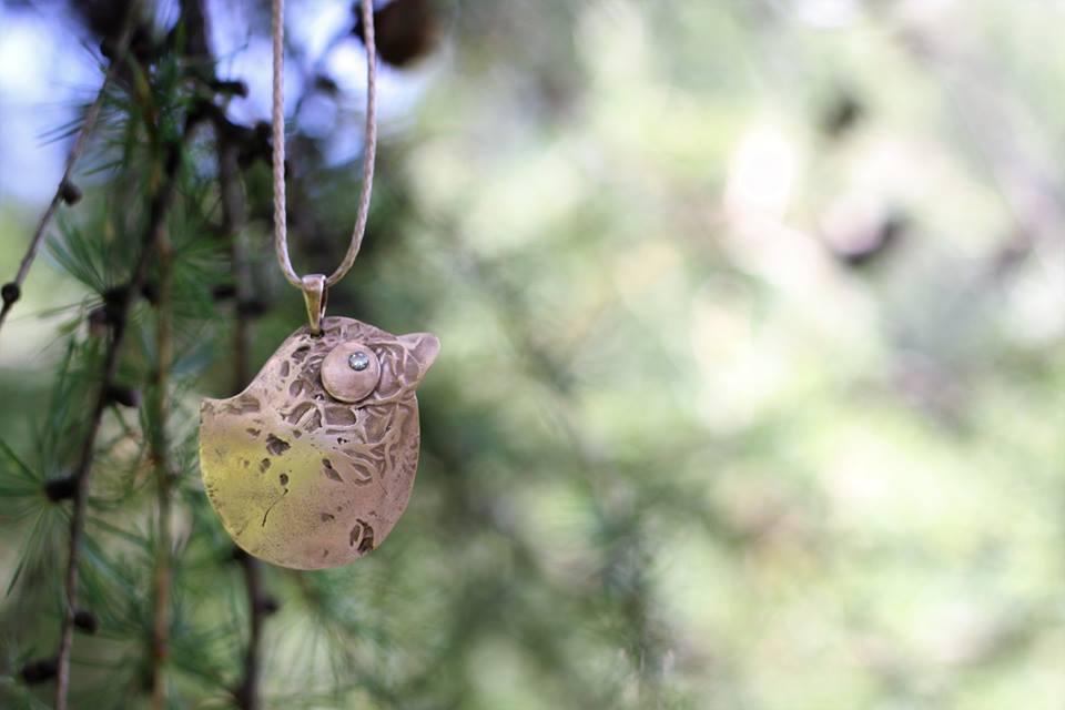 biżuteria artystyczna ptaszorek