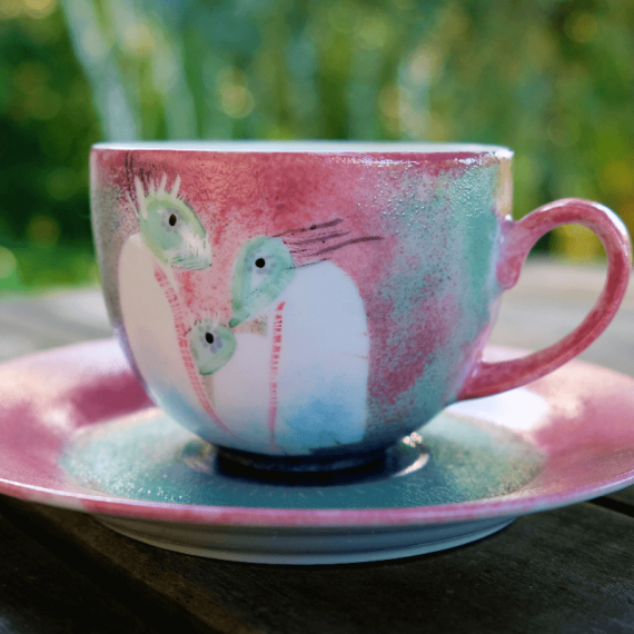 filiżanka z ceramiki