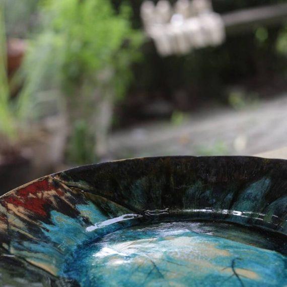 duży talerz ceramika