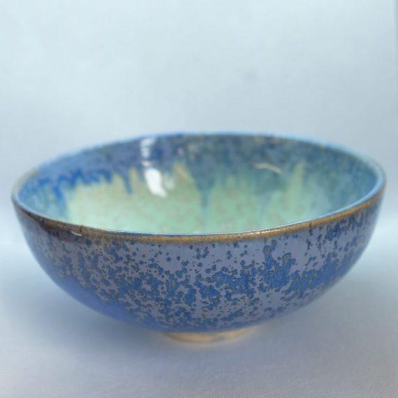 miseczka ceramiczna seledynowo-niebieska