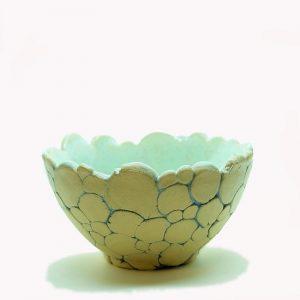 Ceramika -miseczka seledynowa